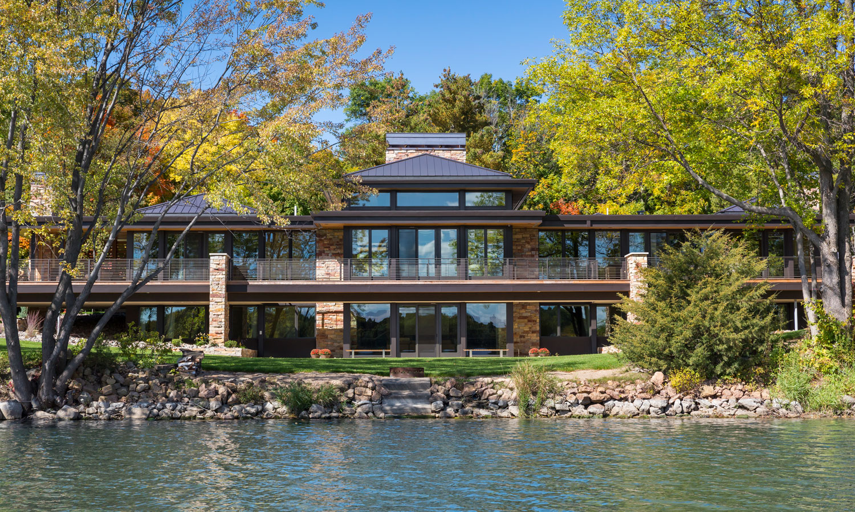 Modern Lake Home Charles R Stinson